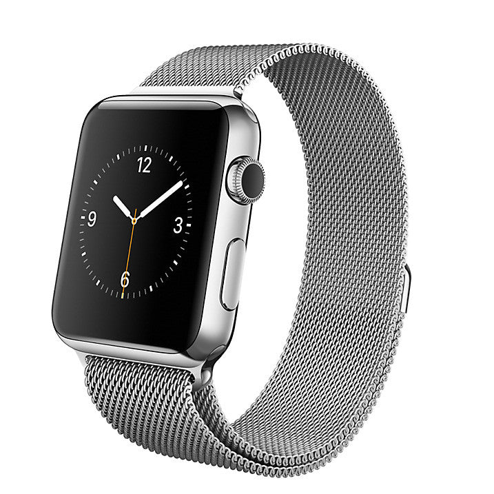 Apple Watch with 42mm Stainless Steel Case & Milanese Loop