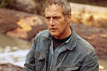 ‍‍Paul Newman in the river scene after loosing his brother in Sometimes a Great Notion (1971)‍