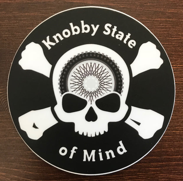 Knobby State of Mind Skull & Crossbones