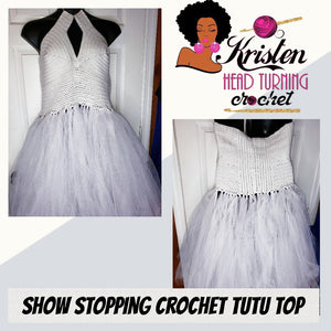 Show stopping crochet tutu Top