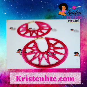 Tye dye pink and red