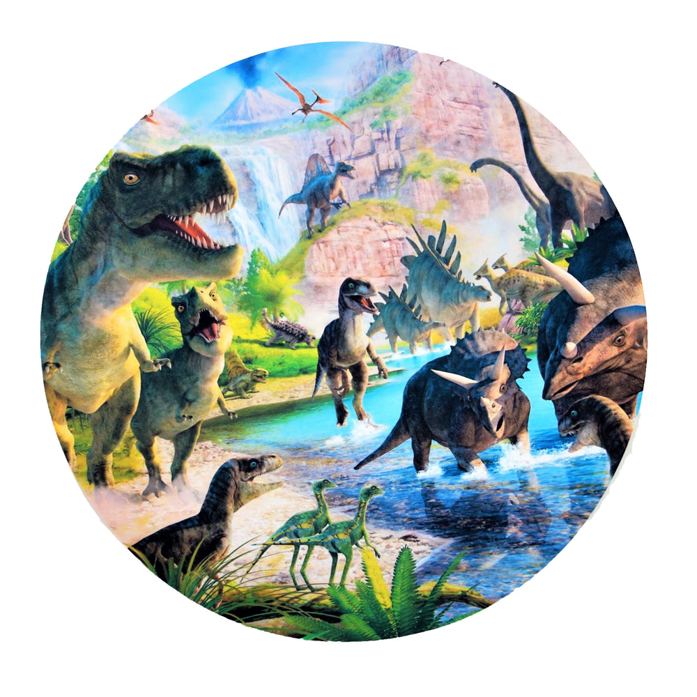 Dinosaur Adventure Placemats (8-pack, 100% Cotton Paper)