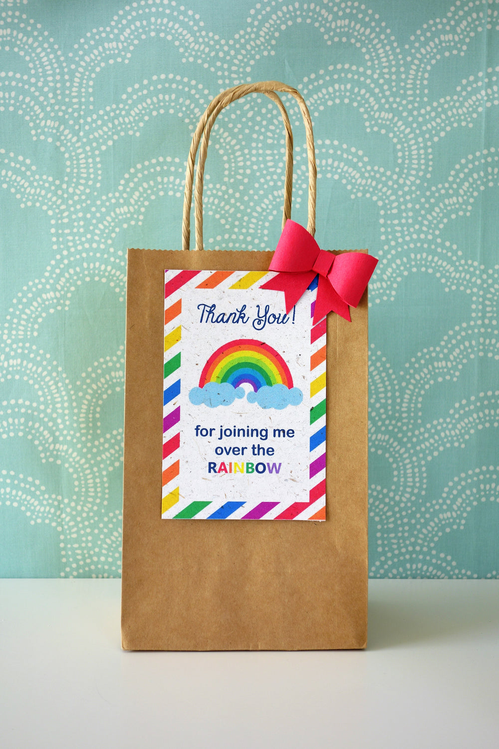 TG022980 Luggage Tags Pack of 10 /'Rainbow/' Gift