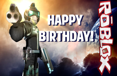 Roblox Happy Birthday Sign FREE DOWNLOAD