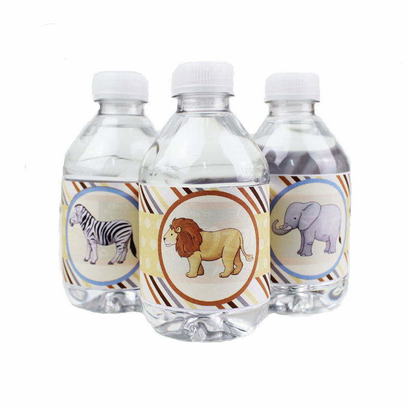 Baby Safari Tree-free Water Bottle Wraps