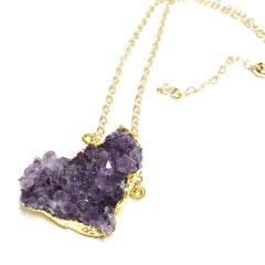Amethyst Gold Filled Necklace