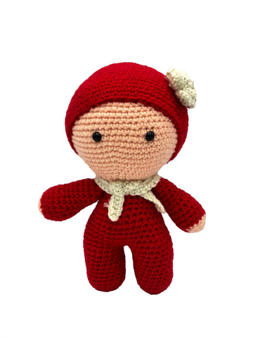 AMIGURUMI CROCHET BABY DOLLY