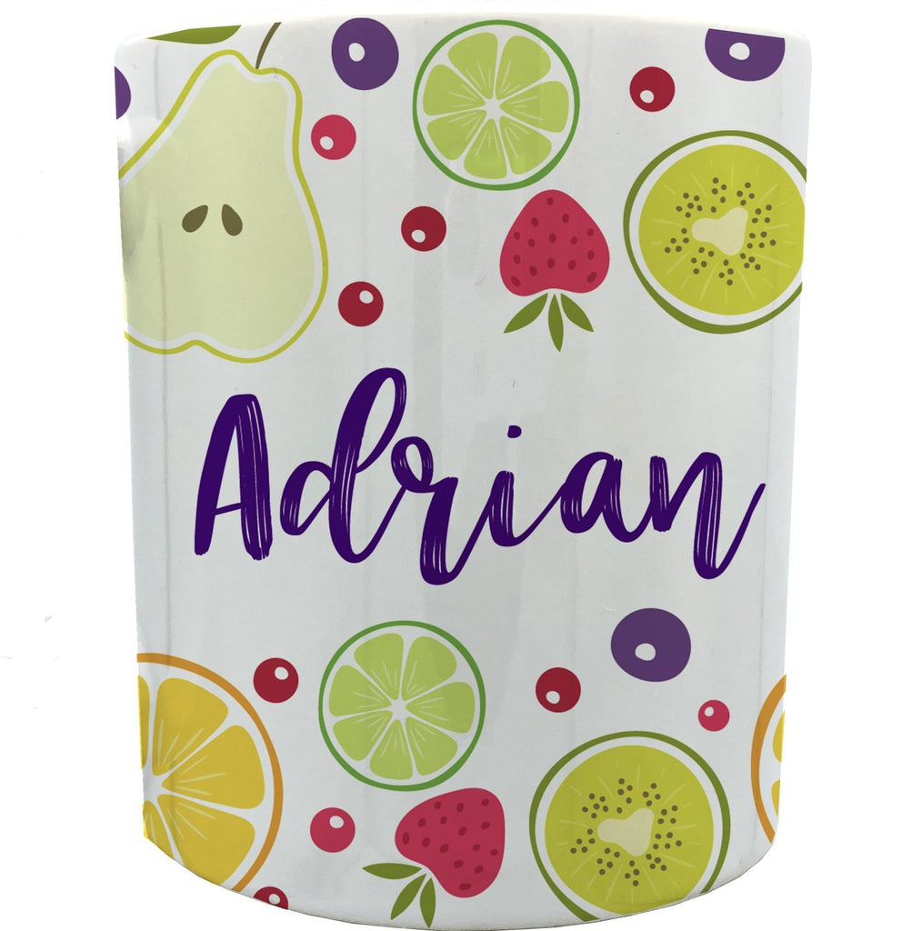 Personalized Fruits mugs 11 oz