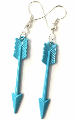 BOHO ARROW EARRINGS TURQUOISE