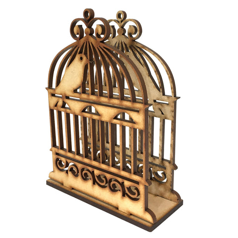 MDF Bird Cage Napkin Holder