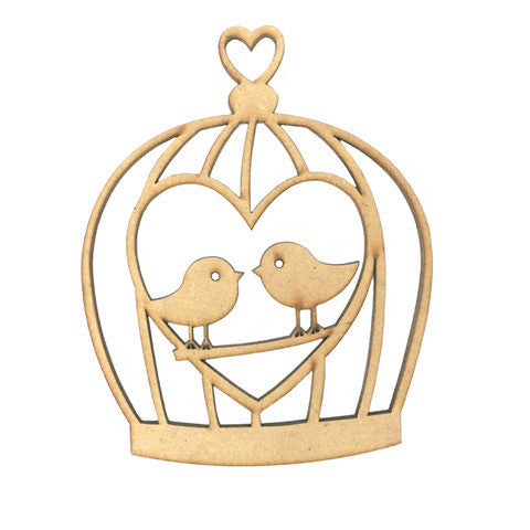 MDF Bird Cages Set of 3
