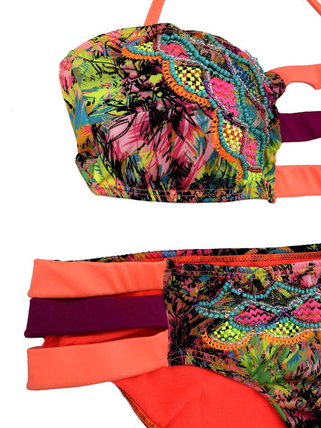 MIKONOS Swimwear Printed Bikini Set
