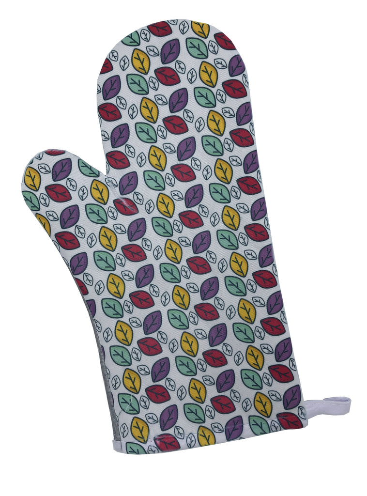 Colorful Leaves Oven Mitt