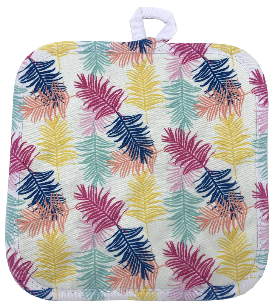 Palm Leaves Pot Holder