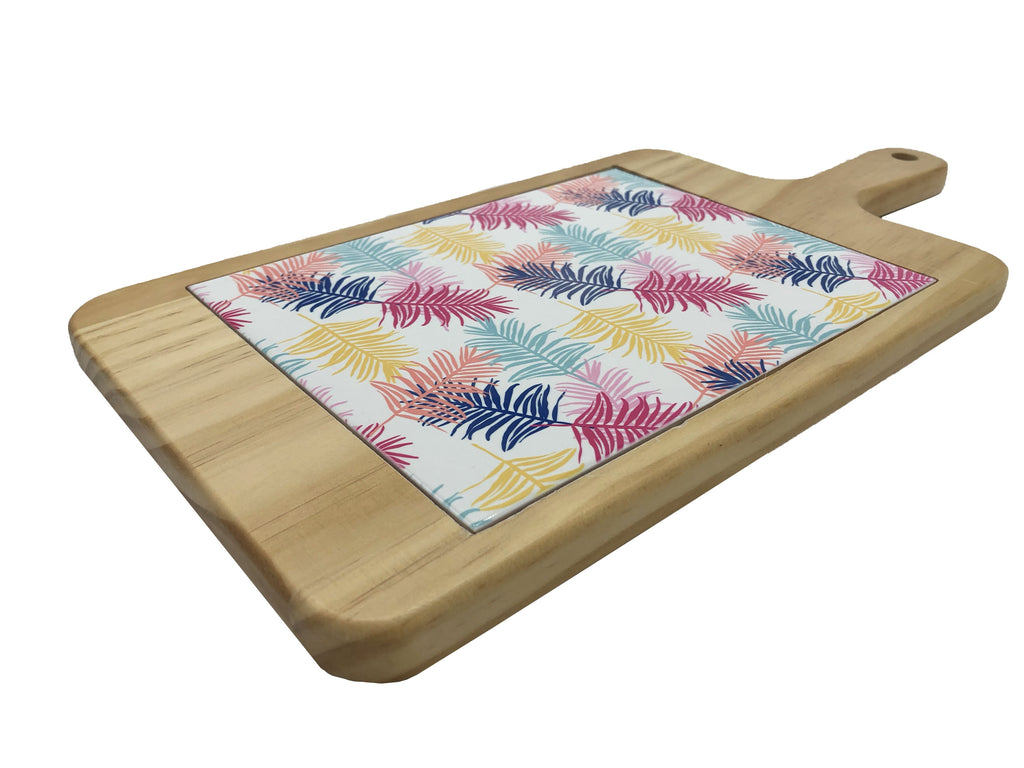 Palm Leaves Cheese Board