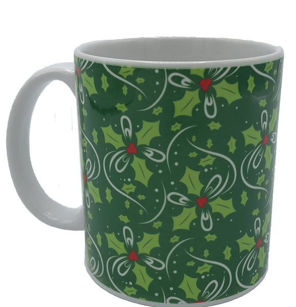 Holly 11oz ceramic mug