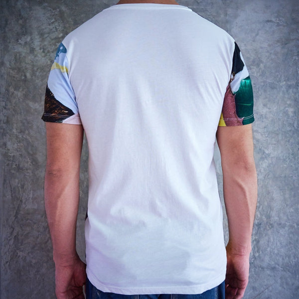 Short Sleeve Mens T-shirt Perspectiva 2