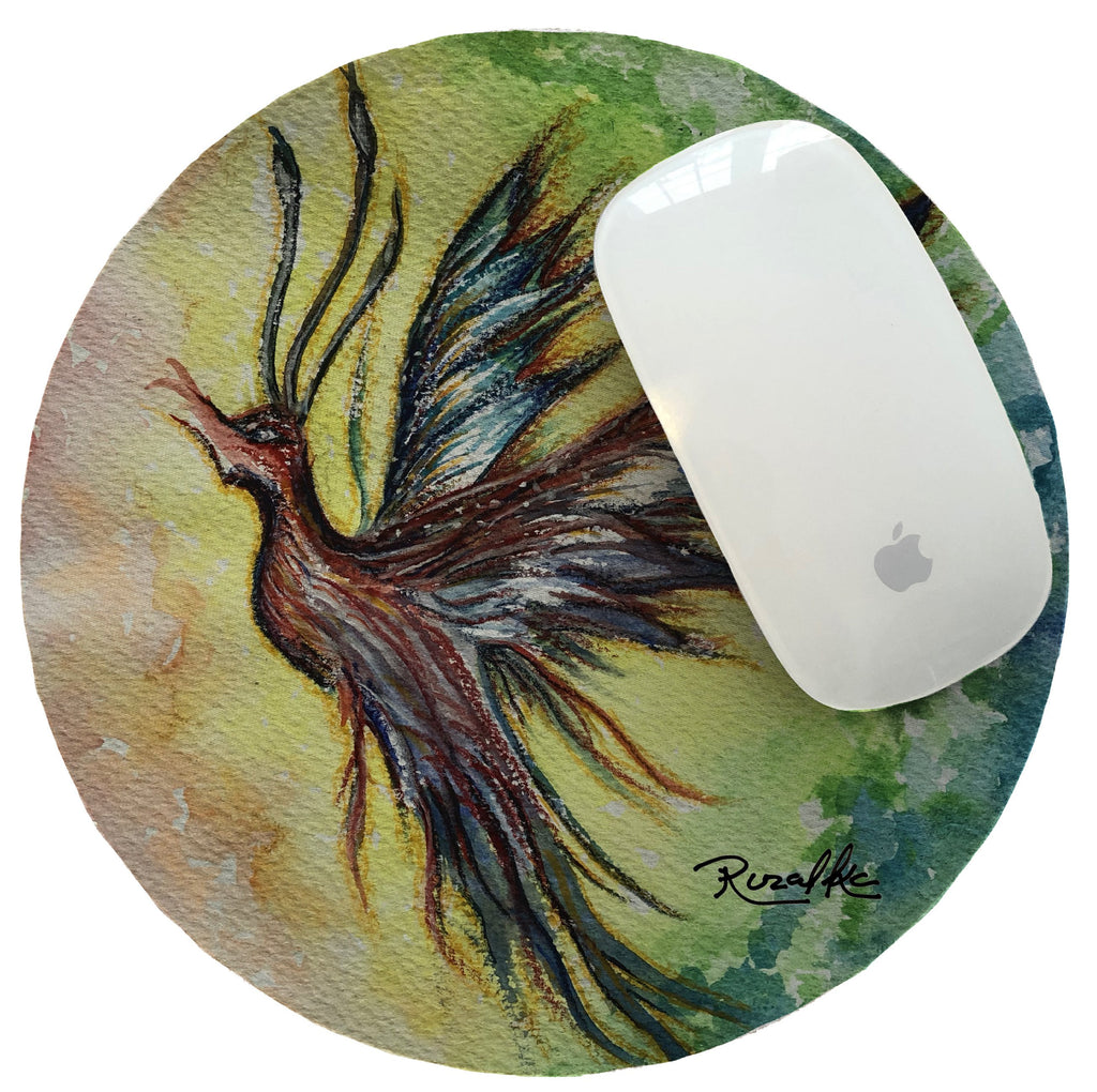 Mouse Pad Watercolor The Majestic