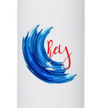 Personalized Ocean Blue 17oz Stainless Steel Bottle