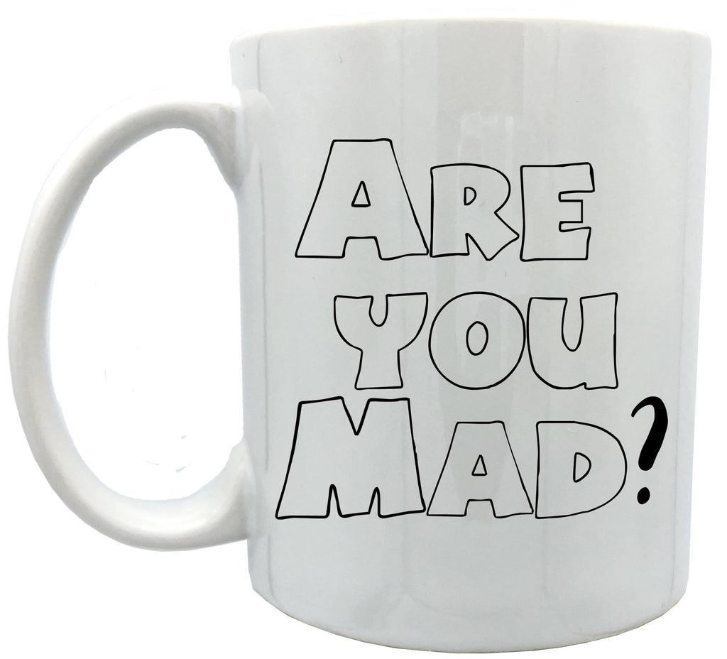 Are you mad ? 11oz ceramic mug