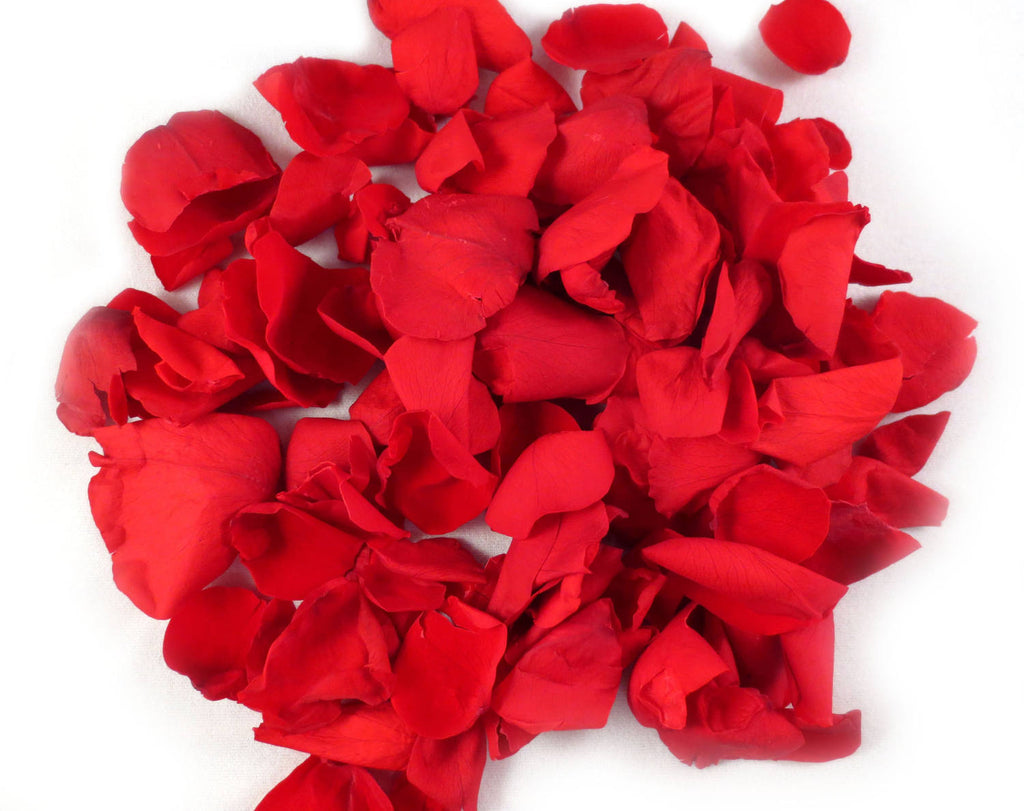 Red Preserved Rose Petals
