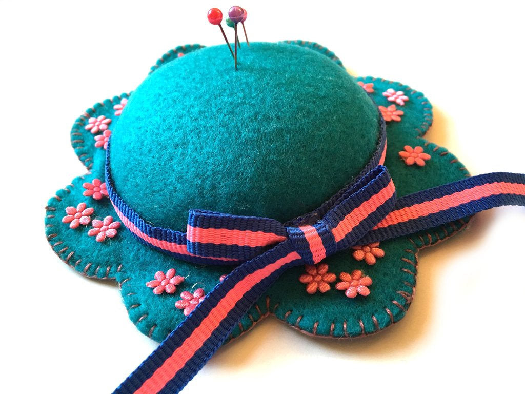 Felt Hat Pin Cushion