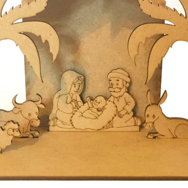 MDF Big Size, Nativity