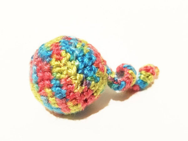 Crochet Jingle Bell Balls (set of 3)