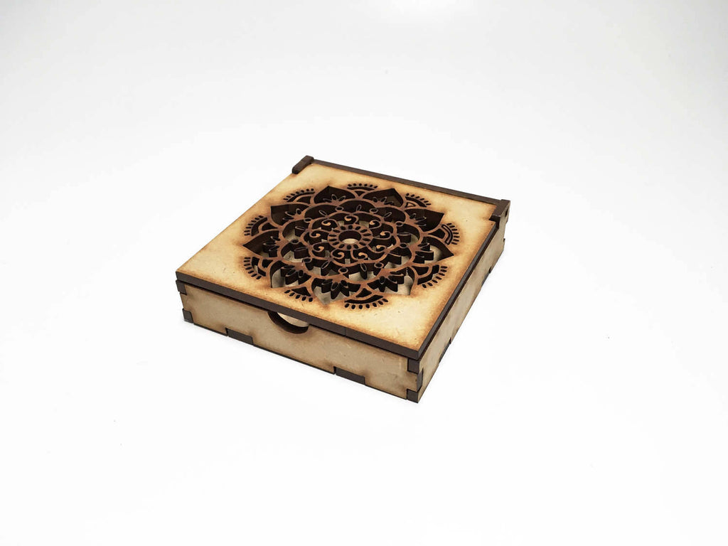MDF Mandala Mini Box