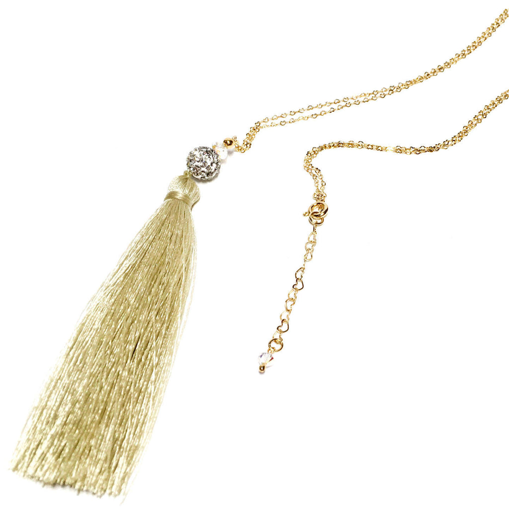 Niagara Falls Tassel Gold Filled Necklace