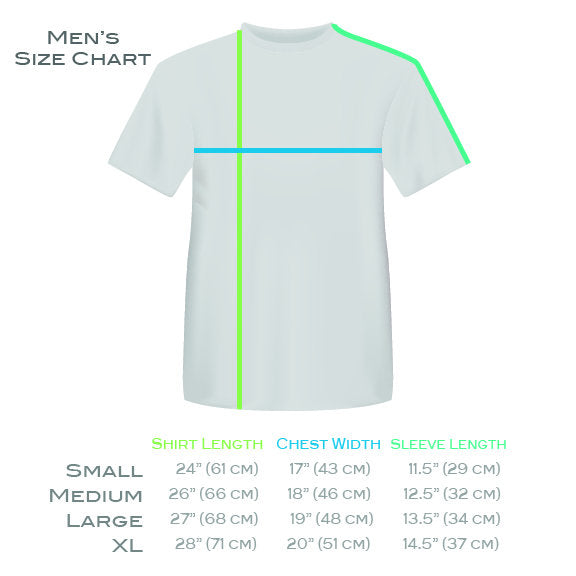 Short Sleeve Mens T-shirt Perspectiva 1