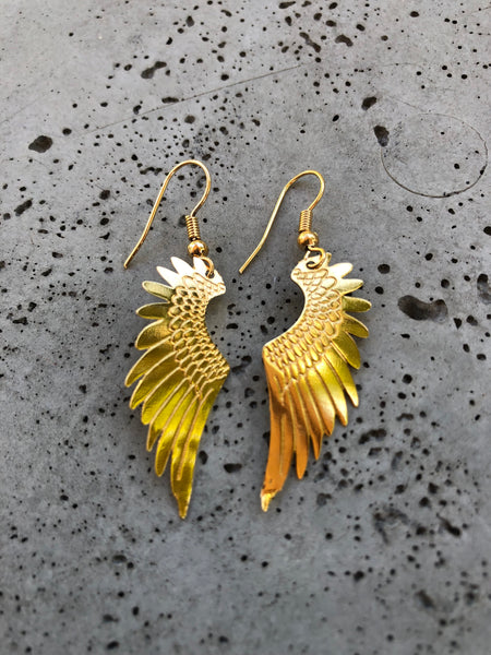 Wings of Svarog Earrings