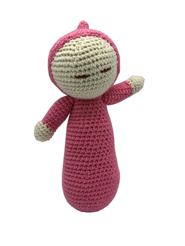 Amigurumi  Crochet   Baby Dolly Pink