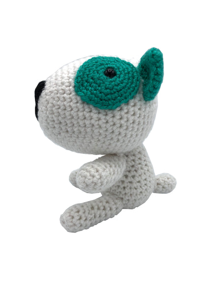 AMIGURUMI CROCHET  PUPPY GREEN
