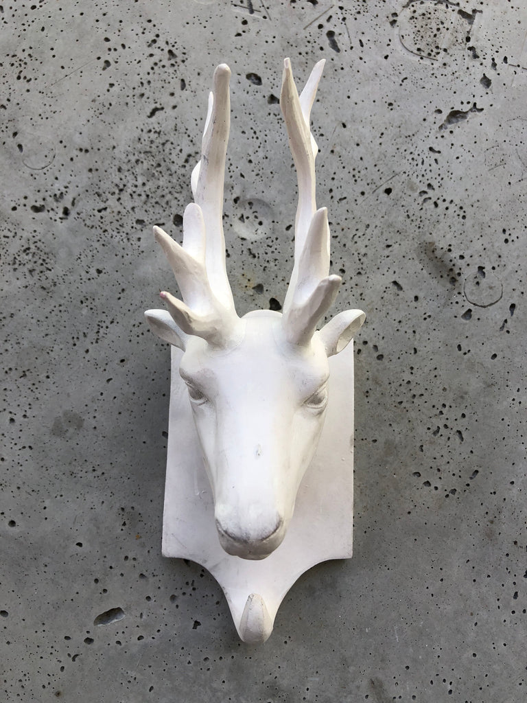Ceramic Head Trophy Deer Hanger