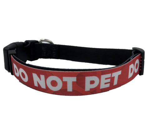 DO NOT PET DOG COLLAR