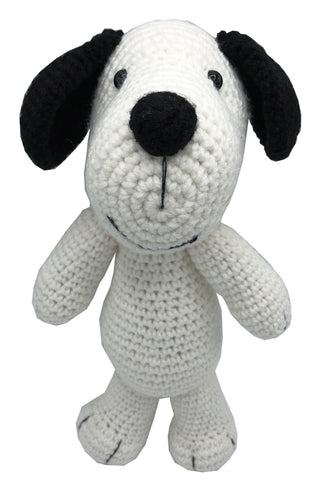 Amigurumi Crochet Puppy White