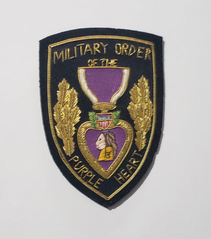 Purple Heart, Bullion 4""