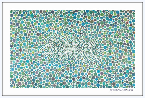 [white circles xl] [limited edition print]