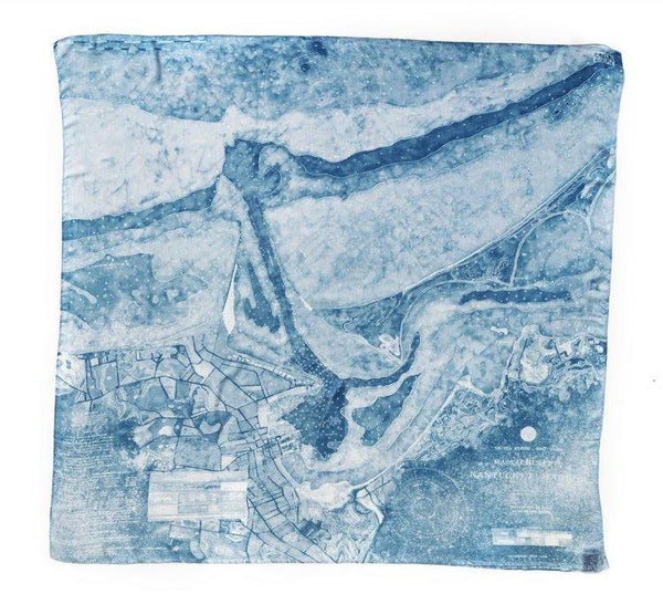 [nantucket harbor] [square scarf]