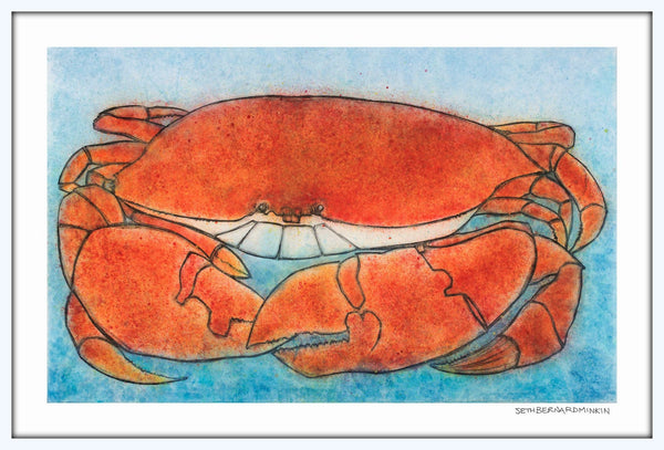 [Crab]  [Limited Edition Print]