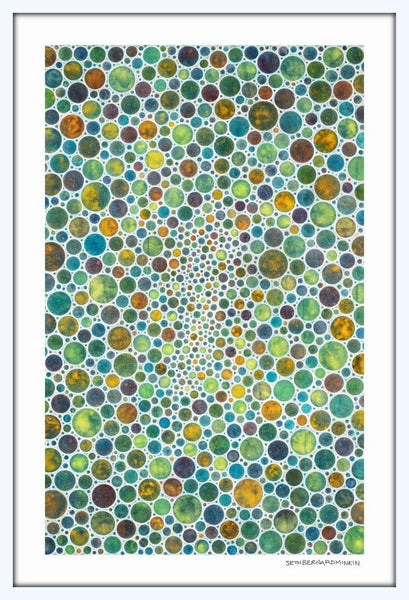 [white circles III] [limited edition print]