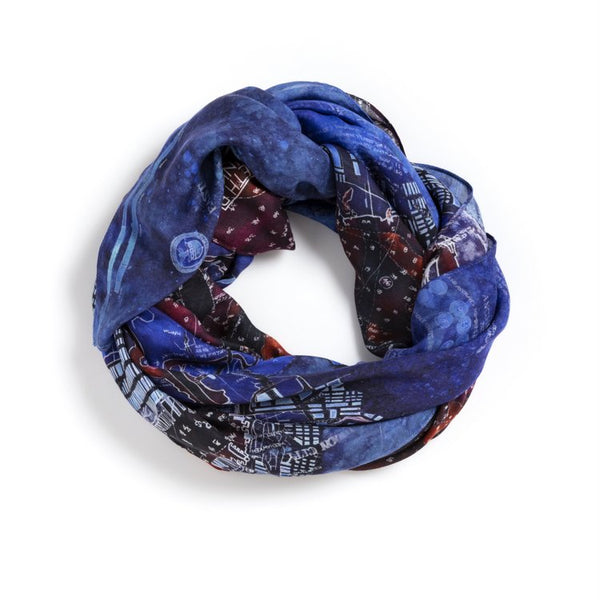 [ny harbor blue] [square scarf]