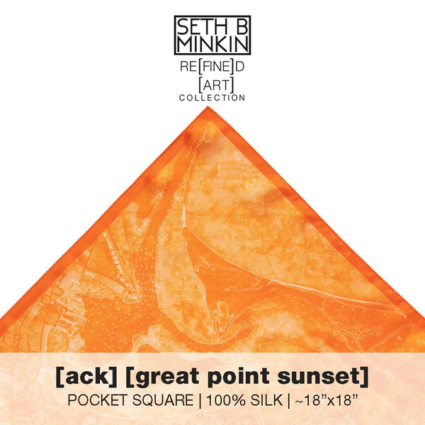 [ack] great point sun set [silk square]