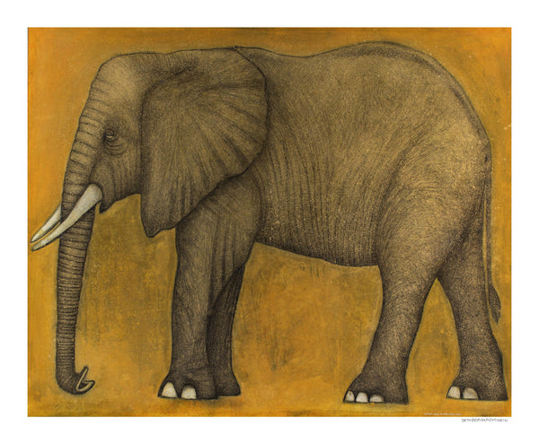[elephant] [limited edition print]