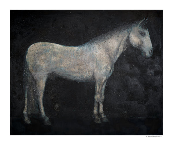 [horse] [limited edition print]