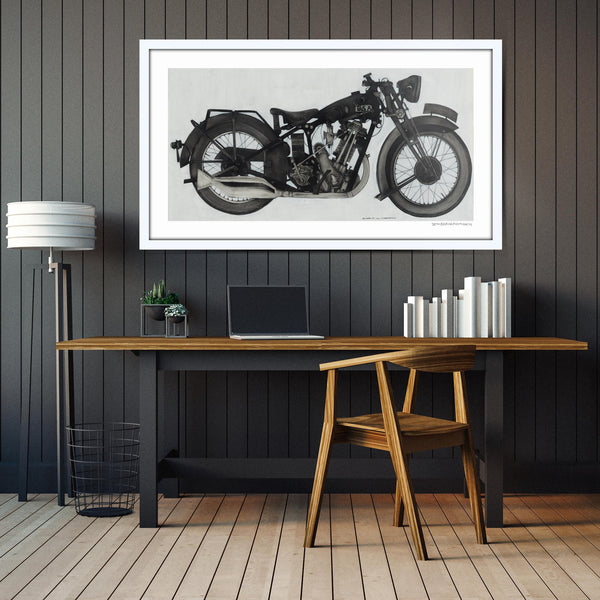 1930 BSA Sloper | Limited Edition Print