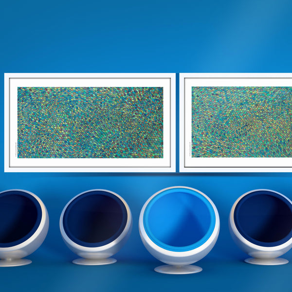 [Blue Scales]  [Limited Edition Print Set | Printed Separately]