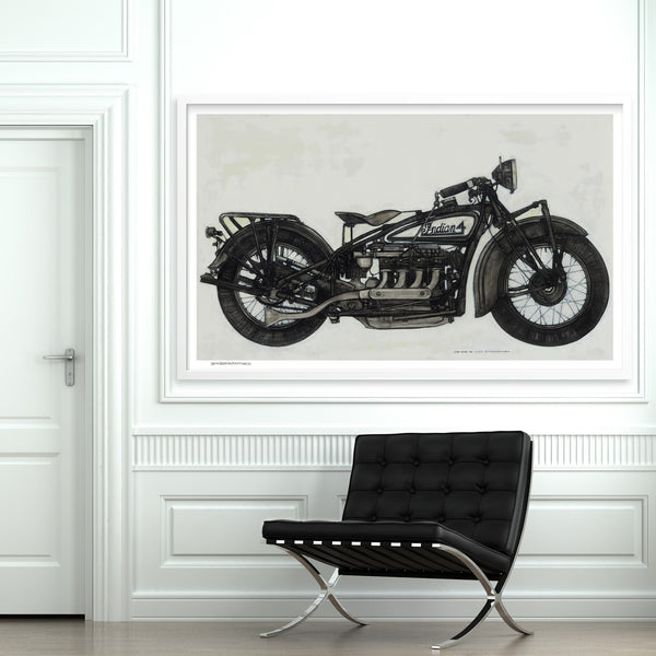 [1930 indian] [limited edition print]