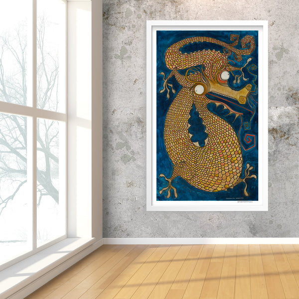 [dragon] [limited edition print]
